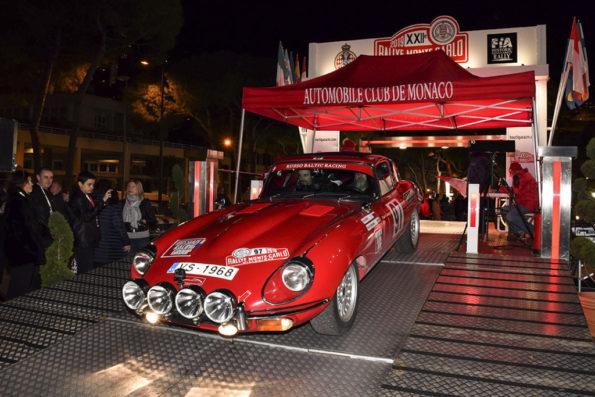 Russian Racing Group, Jaguar E-Type 1968, Rallye Historique Monte-Carlo