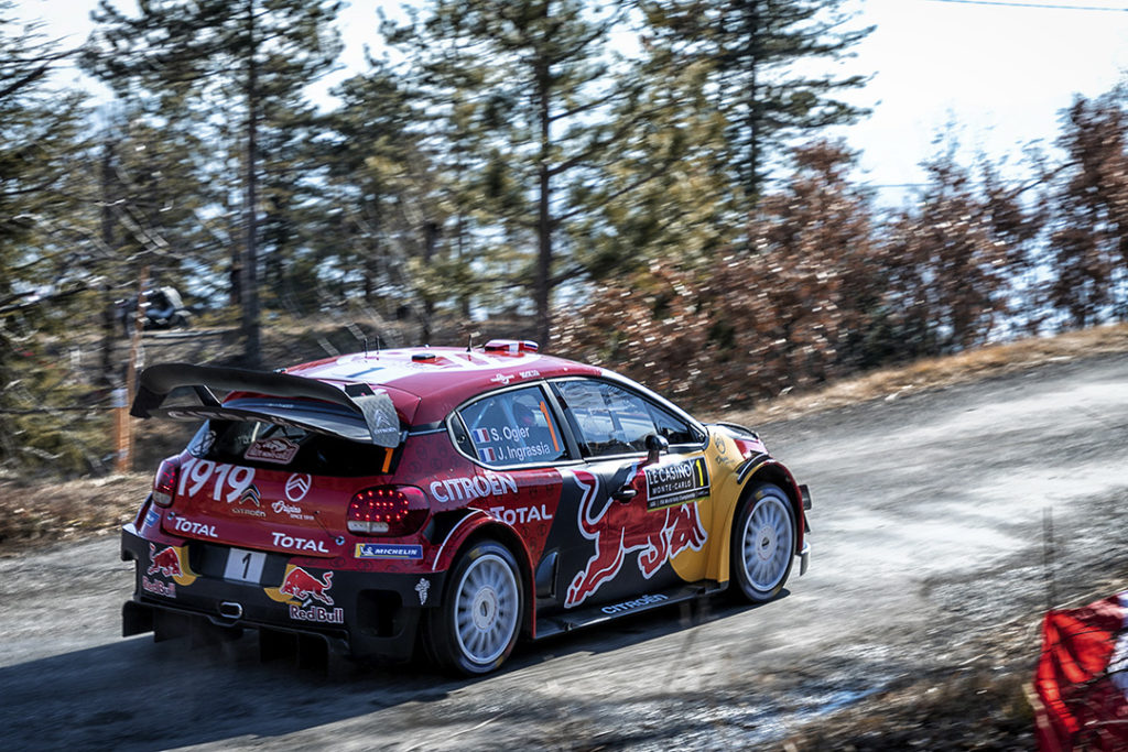 Sebastien Ogier / Julien Ingrassia, Citroen C3, WRC-2019